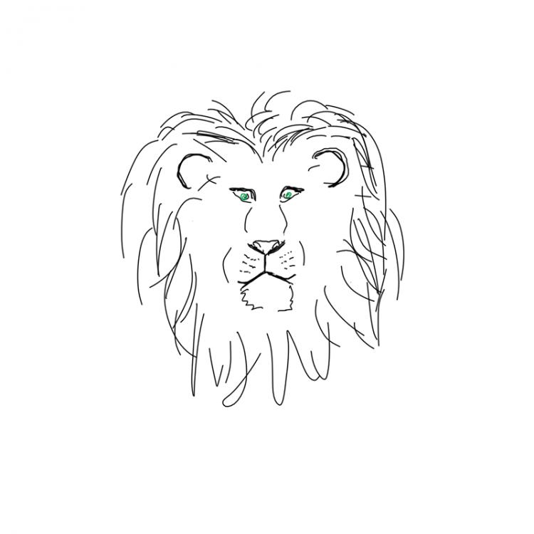 Löwen Geschichte zum mitmachen